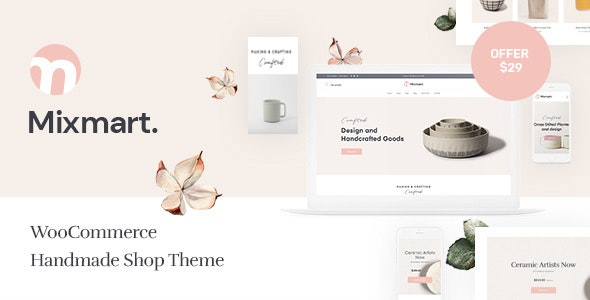 Mixmart - Handmade Shop WordPress WooCommerce Theme - WooCommerce eCommerce