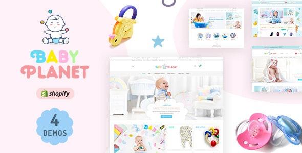 Baby Planet | Babies Store Shopify Theme - Shopping Shopify