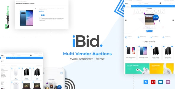 iBid - Multi Vendor Auctions WooCommerce Theme - WooCommerce eCommerce
