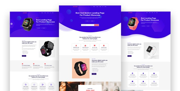 Mixito - Product Landing Page - Marketing Corporate