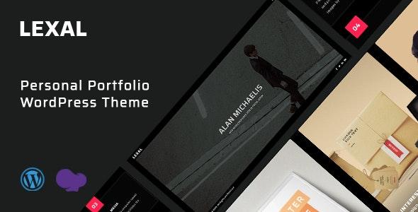 Lexal - Personal / Portfolio / Resume WordPress Theme - Personal Blog / Magazine