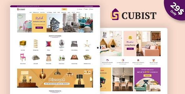 Cubist - Responsive Prestashop 1.7 Theme