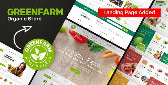 Organic Food Shopify eCommerce Theme - Greenfarm - Health & Beauty Shopify