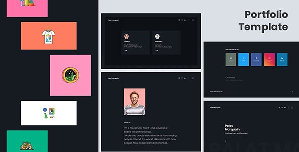Palat - Portfolio Template - Portfolio Creative