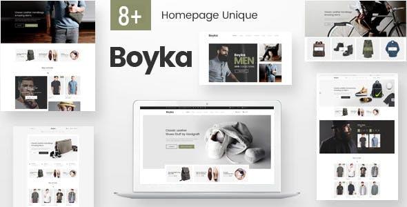 Boyka – Fashion eCommerce HTML Template