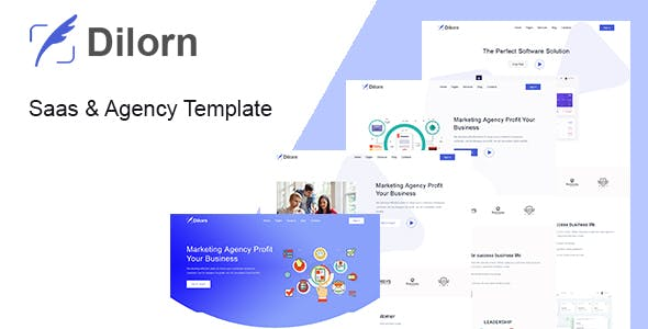 Dilorn - Startup & Agency HTML Template