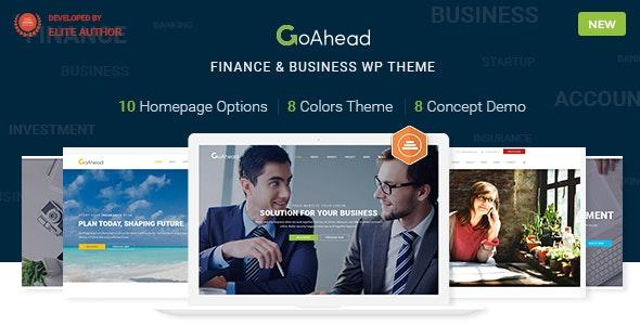 Finance Business WordPress | GoAhead - Business Corporate
