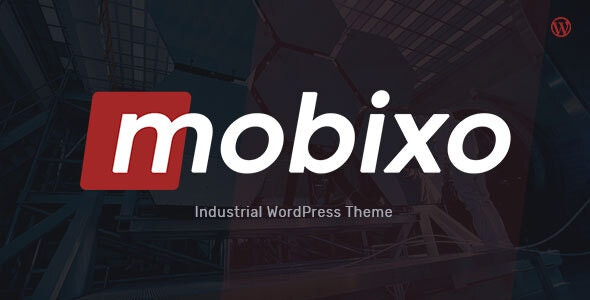 Mobixo | Industry WordPress Theme - Business Corporate
