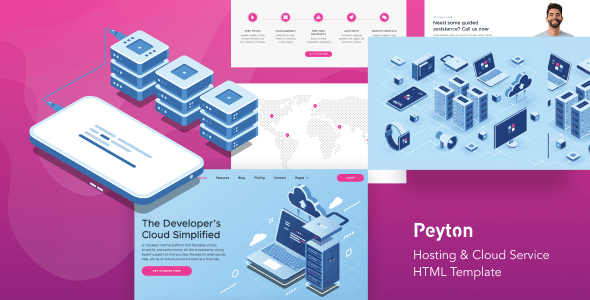 Peyton - Hosting & Cloud Service HTML Template - Hosting Technology