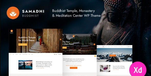 Samadhi | Oriental Buddhist Temple WordPress Theme - Churches Nonprofit