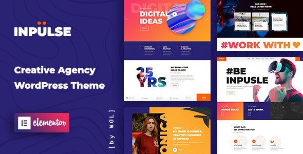 InPulse - Creative Agency WordPress Theme - Marketing Corporate