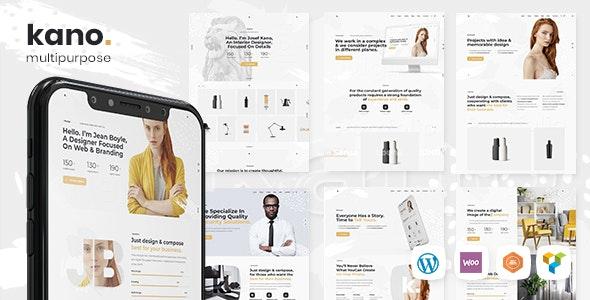 Kano - Creative MultiPurpose WordPress Theme - Portfolio Creative