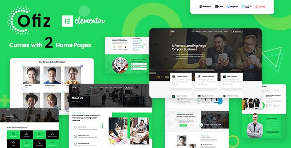 Ofiz | Office / Agency WordPress Theme - Business Corporate