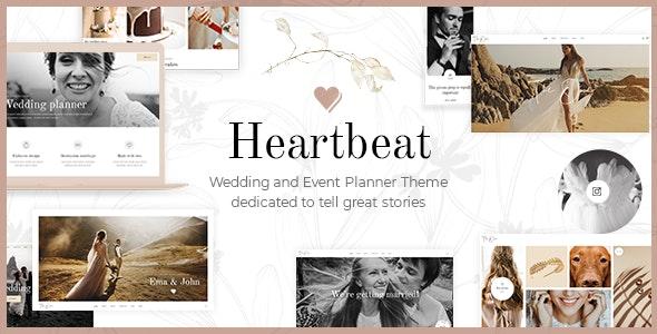 Heartbeat - Wedding and Event Planner WordPress Theme - Wedding WordPress