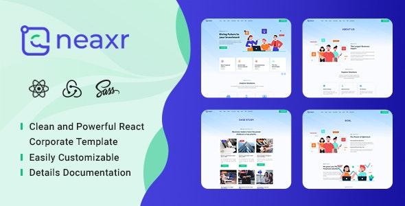 Neaxr - React Business Agency Template - Business Corporate