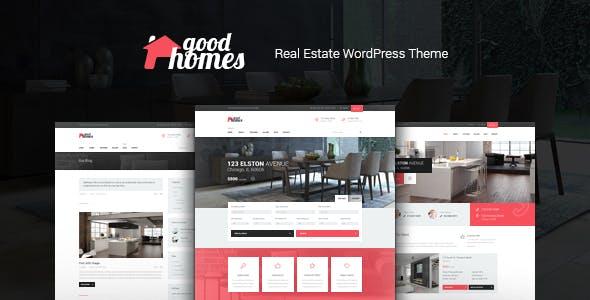 Good Homes | A Contemporary Real Estate WordPress Theme