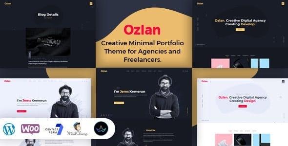 Ozlan - Minimal Portfolio WordPress Theme