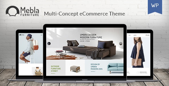Mebla - Multi Concept WooCommerce WordPress Theme - WooCommerce eCommerce
