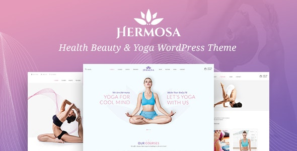 Hermosa - Health Beauty & Yoga WordPress Theme - Health & Beauty Retail