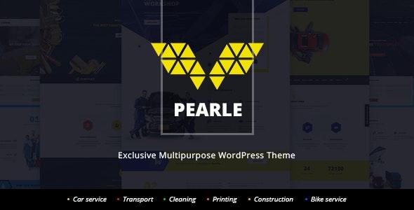 Pearle - Multipurpose Service & Shop WP Theme - Corporate WordPress