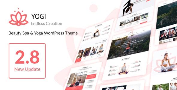 Yogi - Health Beauty & Yoga WordPress Theme - Health & Beauty Retail
