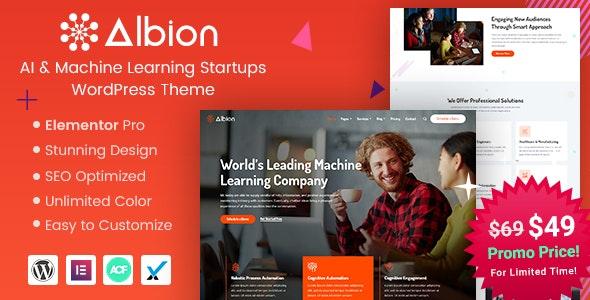 Albion - Machine Learning & AI WordPress Theme - Technology WordPress