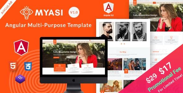 Myasi | Angular Multi-Purpose Responsive Template - Portfolio Creative