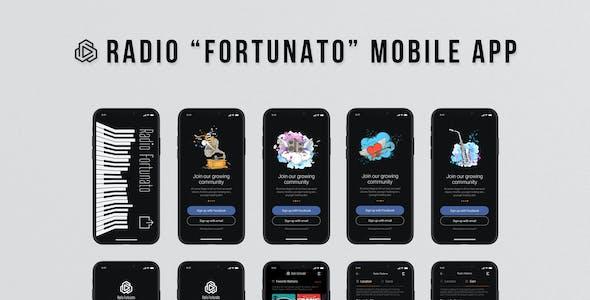 Fortunato - Radio UI Kit for Mobile App
