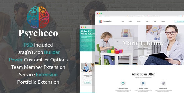 PsycheCo – Psychology & Counseling WordPress Theme - Business Corporate