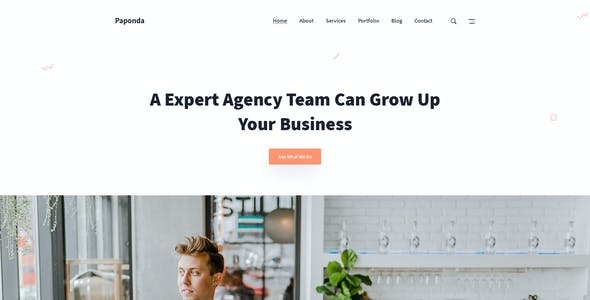 Paponda Digital Agency Page