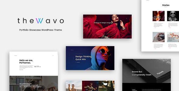 The Wavo - Portfolio Showcase WordPress Theme