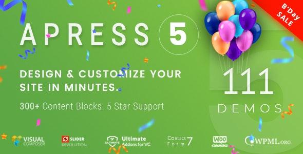 Apress -  Responsive Multi-Purpose Theme - Creative WordPress