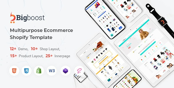 BigBoost - Shopify Responsive Theme - Shopify eCommerce