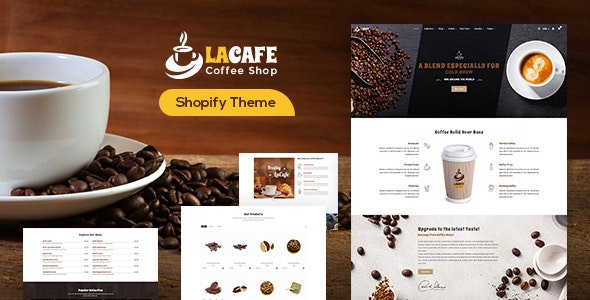 LaCafe - Coffee Shop Shopify Store - Entertainment Shopify