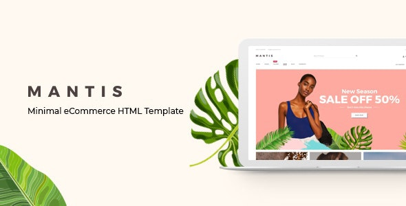 Mantis – Minimal eCommerce HTML Template - Fashion Retail