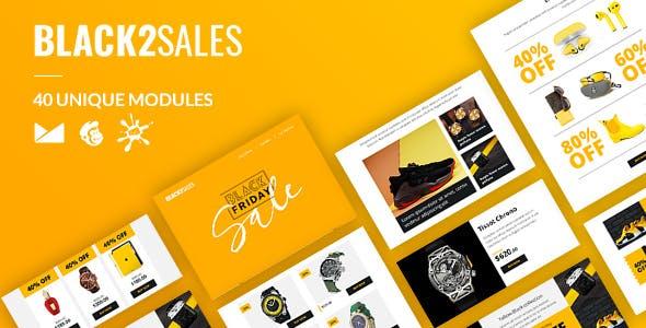 Black2Sales Email-Template + Online Builder
