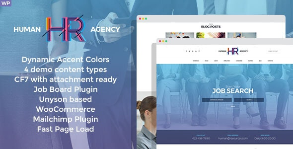 HR Human Consult - Searching & Recruiting WordPress Theme - Business Corporate