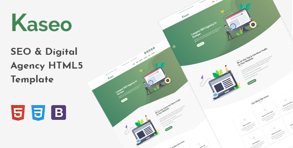 Kaseo - SEO & Digital Agency HTML5 Template - Marketing Corporate