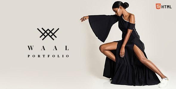 Waal - Responsive Portfolio HTML Website Template - Portfolio Creative