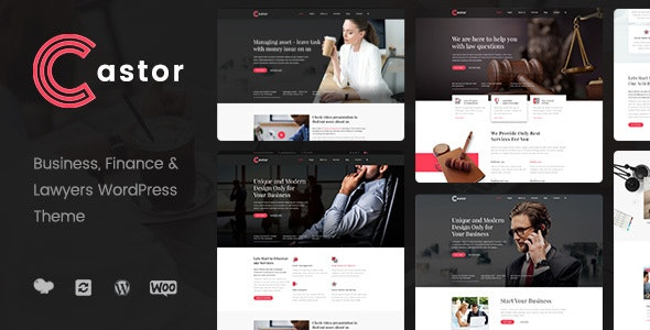 Castor - Business Consulting WordPress Theme - Business Corporate
