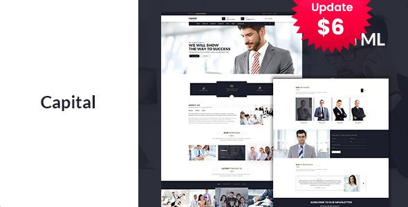 Finance - Business Consulting and Professional Services HTML Template - Business Corporate