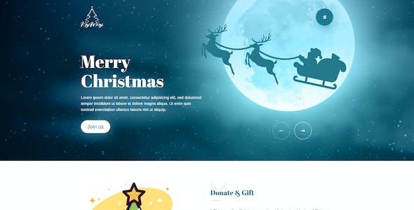 Kisimusi - Christmas PSD Template