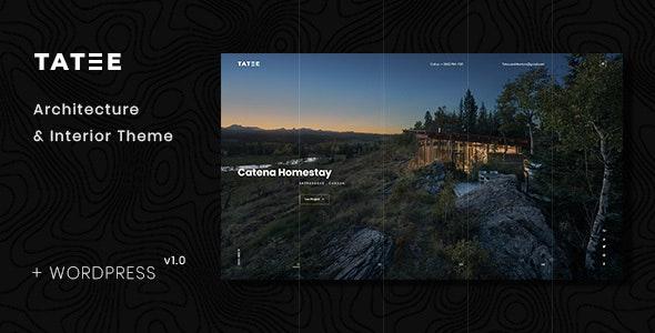 Tatee - Architecture and Building Business WordPress Theme - Portfolio Creative