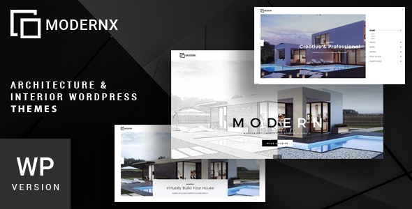 Modernx - Architecture & Interior WordPress Theme - Business Corporate