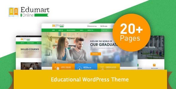 Edumart – Education WordPress Theme - Education WordPress
