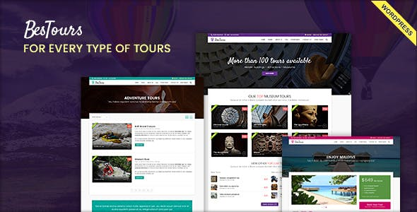 BESTOURS - Travel Multipurpose WordPress Theme