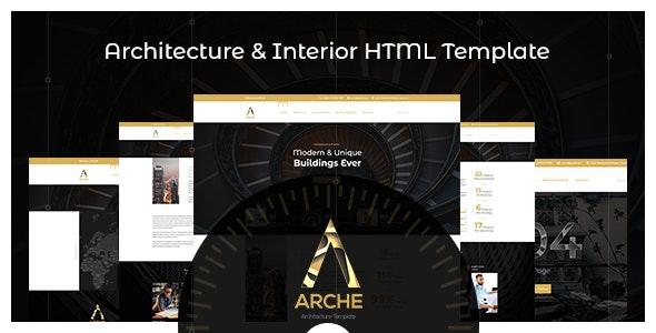Arche - Architecture HTML Template - Business Corporate