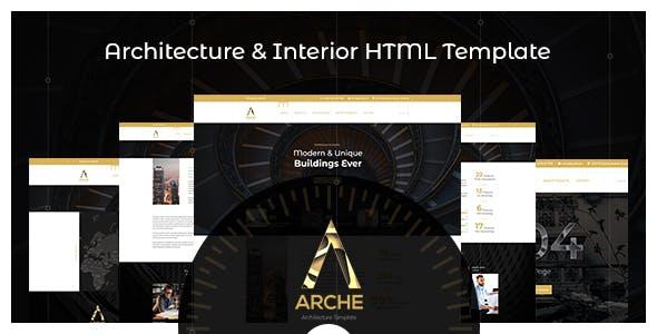 Arche - Architecture HTML Template