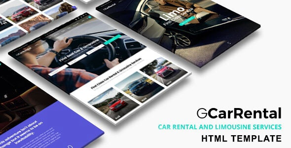 Grand Car Rental | Limousine HTML Template - Business Corporate