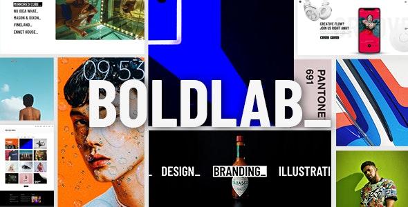 Boldlab - Creative Agency Theme - Creative WordPress